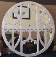 Hand Made Wooden Church Mirror